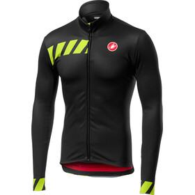 Castelli Pisa Full-Zip Jersey Men light black
